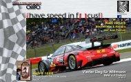 {have speed in f[ ]cus!} 07 Rennen DTM Nürburgring