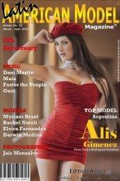 Fashion, Glamour, Magazine LATIN AMERICAN MODEL