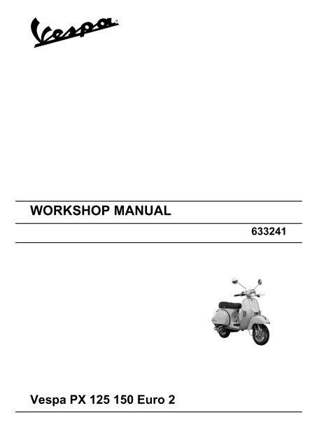 vespa et4 50 2008 repair service manual