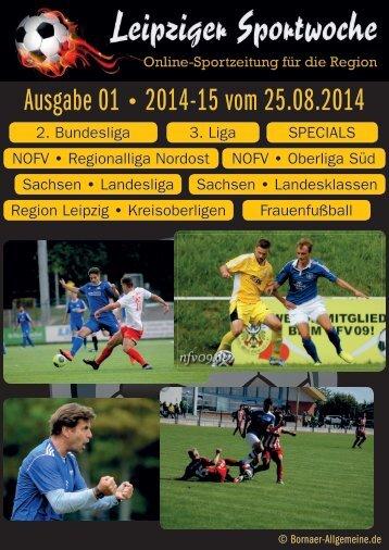 Ausgabe 01 2014-15 vom 25.08.2014