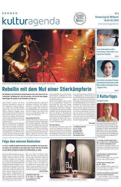 Berner Kulturagenda 2014 N°03
