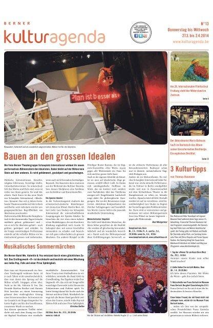 Berner Kulturagenda 2014 N°13