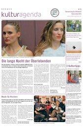 Berner Kulturagenda 2014 N°25