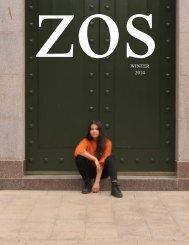 ZOS Magazine Winter Issue 2014