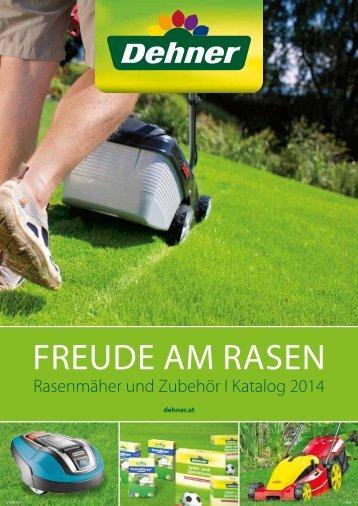 Freude am Rasen - Dehner Katalog