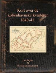 Sterms Kort over Kjøbenhavn 1840 - 1841