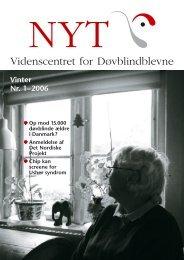 NYT om erhvervet døvblindhed 2006 nr. 1
