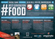 Think Tank NEXT GENERATION FOOD 2014