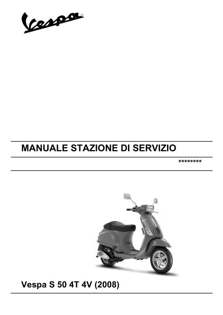 vespa lx125 lx150 4t euro 3 workshop service manual