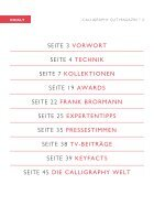 Calligraphy cut Magazin - Page 2