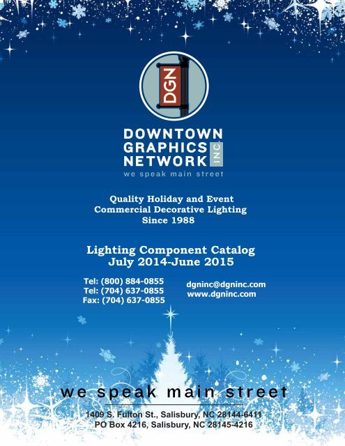 Lighting Component Catalog July 2014-June 2015