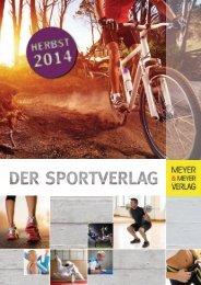 Meyer & Meyer Verlag - Vorschau Herbst 2014