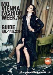 MQ VIENNA FASHION WEEK.14 MAGAZINE