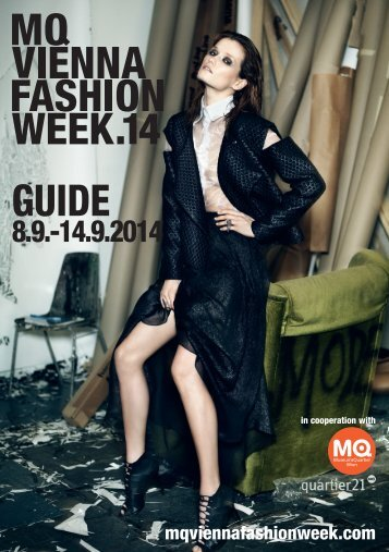 MQ VIENNA FASHION WEEK.14 MAGAZINE
