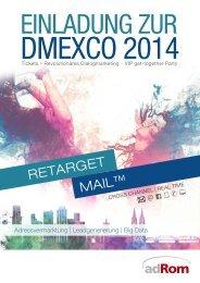 Einladung zur DMEXCO 2014