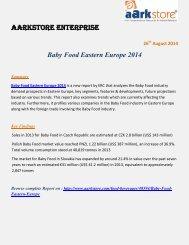 Aarkstore.com - Baby Food Eastern Europe 2014