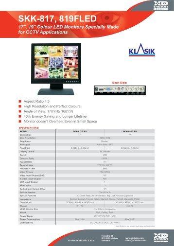 SKK-817, 819FLED