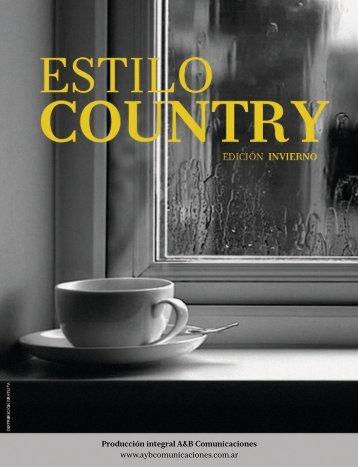 """Revista """"Estilo Country"""". Edición Invierno. 2014"""