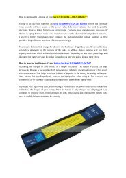 How to Increase the Lifespan of Your Acer 3UR18650Y-2-QC261 Battery?.pdf
