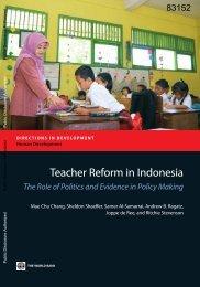 world-bank-teacher-reform-in-indonesia-2014