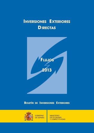 Inversiones Ex.direc Flujos 2013