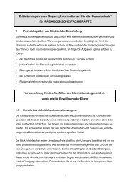 Informationen für die Grundschule - Bayern