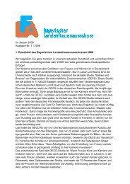 Im Januar 2008 Ausgabe Nr. 1 / 2008 1. Rundbrief des Bayerischen ...