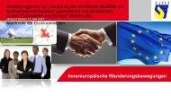 Innereuropäische Wanderungsbewegungen - Bayern