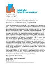 Im November 2007 Ausgabe Nr. 11 / 2007 11. Rundbrief des ...