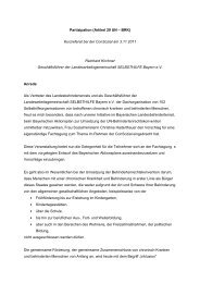 Reinhard Kirchner, Geschäftsführer LAG Selbsthilfe Bayern e. V ...