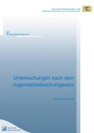 Hinweise für Ärzte - Stand: September 2012 (PDF, 100 KB) - Bayern