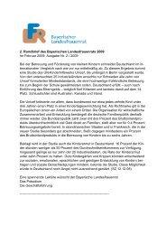 2. Rundbrief des Bayerischen Landesfrauenrats 2009 - Bayerisches ...