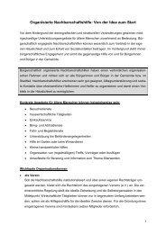 Senioren-Eckpunkte Nachbarschaftshilfe - Bayerisches ...