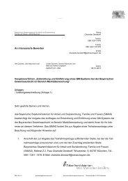 Entwicklung und Einführung eines QM-Systems bei der Bayerischen ...