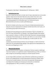"Offene Station ""Wohnen"" Tandempartner: Antje Kempf ... - Bayern"