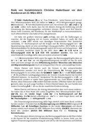 Rede im Bundesrat zum Thema Elterngeld - Bayern