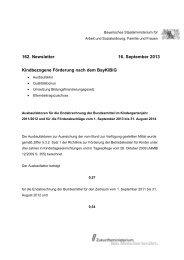 Kindbezogene Förderung nach dem BayKiBiG - Bayerisches ...