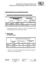 Standardbrief des StMAS - Bayerisches Staatsministerium für Arbeit ...
