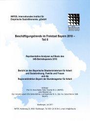 Teil II- Repräsentative Analysen auf Basis des IAB-Betriebspanels