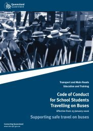 Code of Conduct for School Students Travelling on Buses (PDF, 733 ...