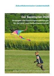 Der Bayernplan 2020 - Bayerisches Staatsministerium für ...