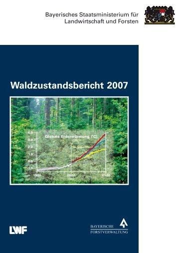 Waldzustandsbericht 2007 - Bayerisches Staatsministerium für ...