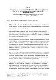 Liste der Technischen Baubestimmungen – Fassung Januar 2007