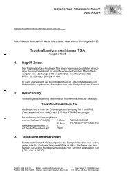 Tragkraftspritzen-Anhänger TSA - Bayerisches Staatsministerium ...