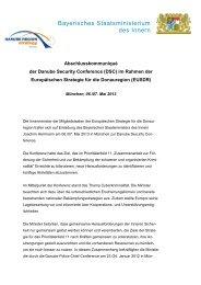Bayerisches Staatsministerium des Innern
