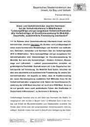 Pressemitteilung vom 23. Januar 2014 - Bayerisches ...