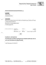 BayVVAuslR - Bayerisches Staatsministerium des Innern - Bayern
