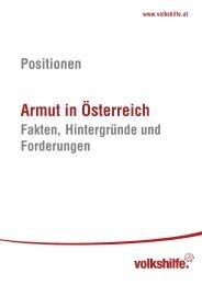 Positionen - Armut in Österreich - Armutskonferenz