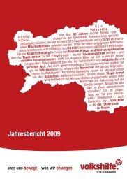 Jahresbericht 2009 - Volkshilfe Steiermark