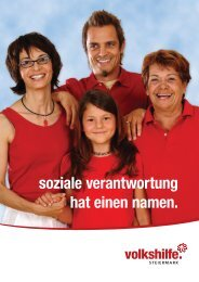 Imagebroschüre - Volkshilfe Steiermark